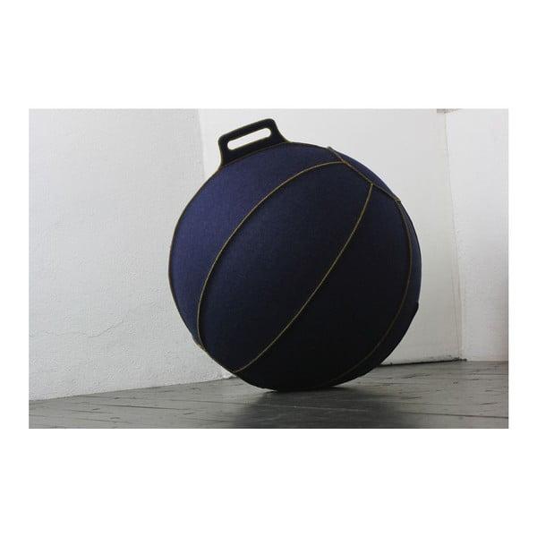 Niebieska filcowa piłka do siedzenia VLUV, 65 cm