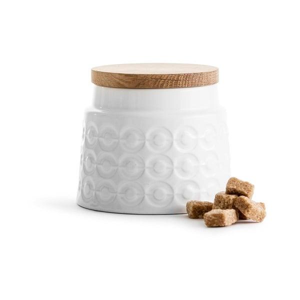Porcelanowy pojemnik Sagaform Nature, 500 ml