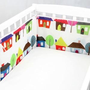 Ochraniacz do łóżeczka Happy Homes, 70x70x70 cm