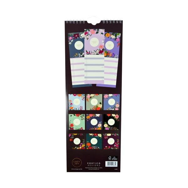 Kalendarz podłużny Portico Designs Lucy Joy