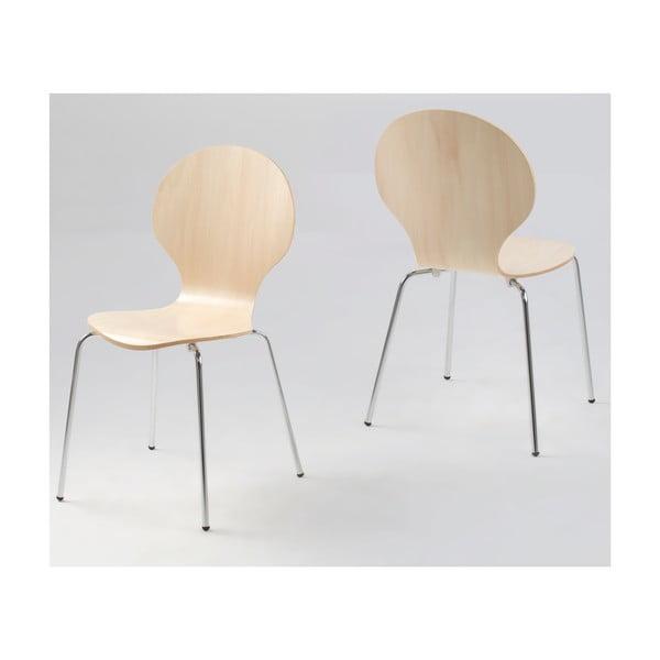 Jasnobrązowe krzesło Actona Marcus