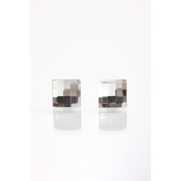 Kolczyki Laura Bruni Clear, 10 mm