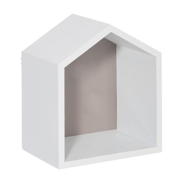 Półka ścienna House Greige, 17x20 cm