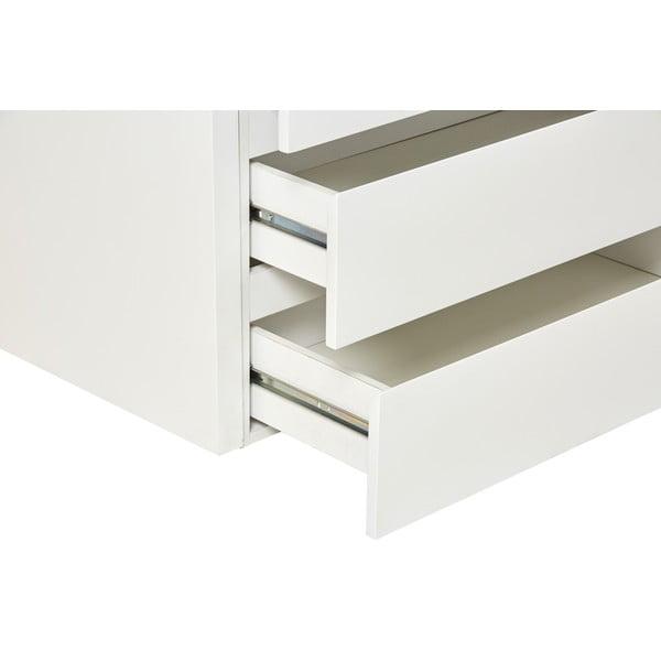 Białe biurko/komoda Marckeric Elbir