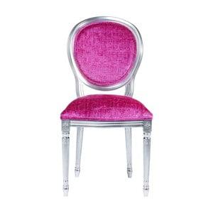 Różowe krzesło Kare Design Posh