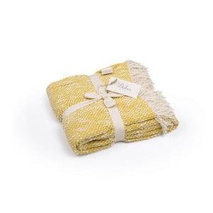 Jasnożółta narzuta bawełniana Homemania