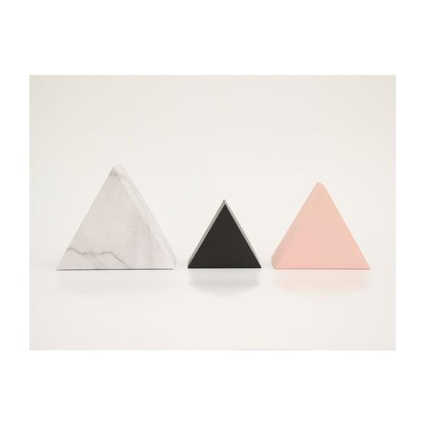 Zestaw 3 pudełek ozdobnych SNUG.Triangle