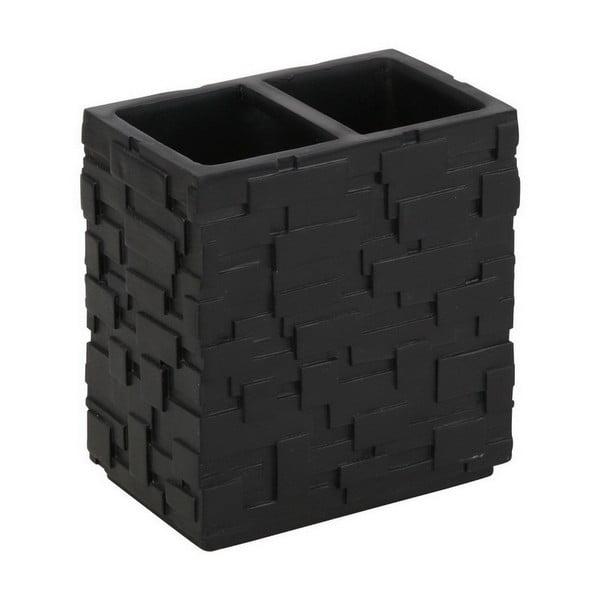 Czarny kubek na szczoteczki Tomasucii Wall