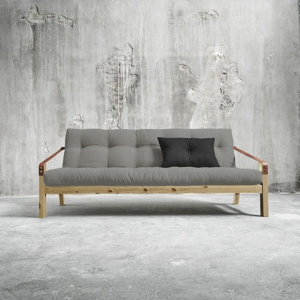 Sofa rozkładana Karup Poetry Natural/Granite Grey/Dark Grey