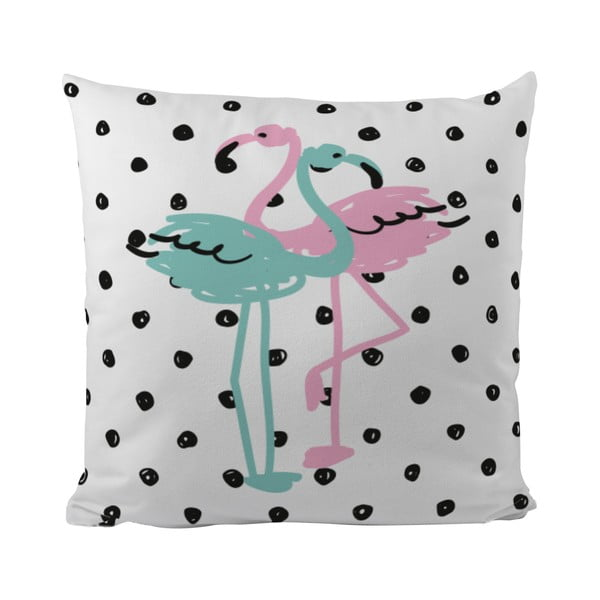 Poduszka   Flamingo Duo, 50x50 cm
