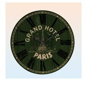 Zegar ścienny Grand Hotel Paris