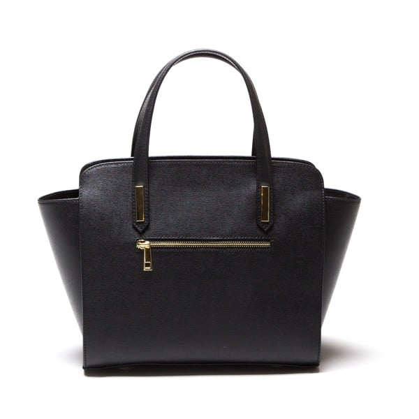 Skórzana torebka Luisa Vanini 421 Nero