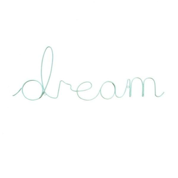 Napis dekoracyjny Dream Wire