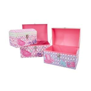 Zestaw 3 pudełek Princess