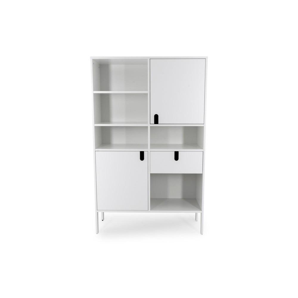 Biała szafka Tenzo Uno, wys. 176 cm