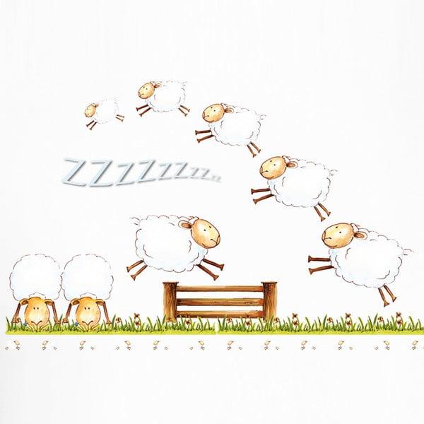 Naklejka dekoracyjna Counting Sheep