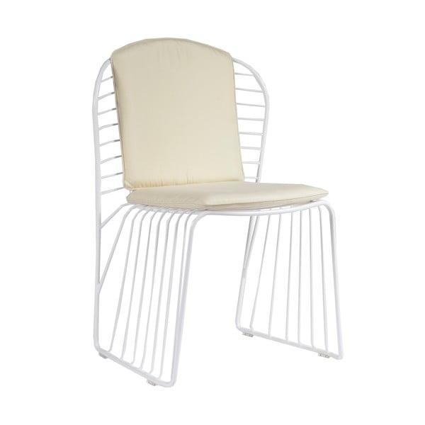 Krzesło ogrodowe Sedia White