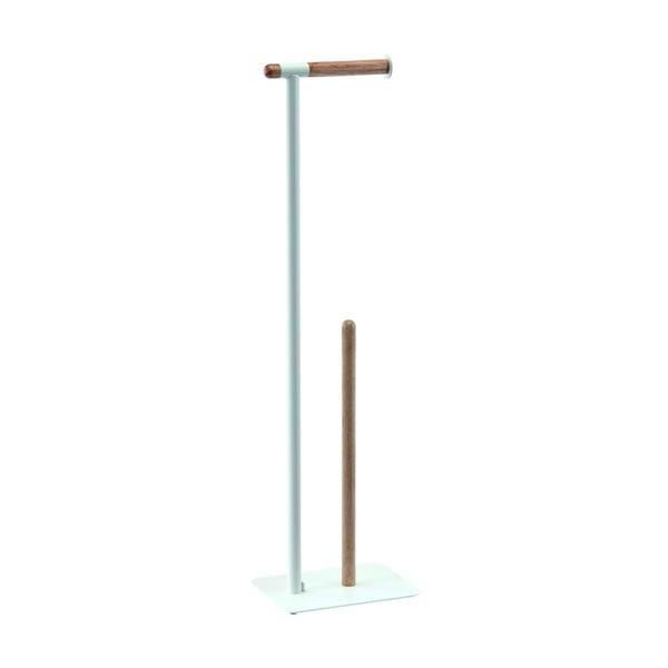Biały stojak na papier toaletowy Aquanova Oscar