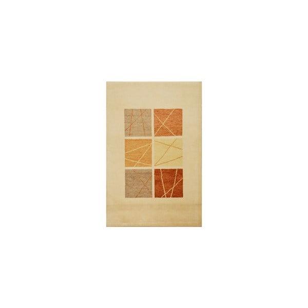 Dywan wełniany Baku Beige, 90x160 cm