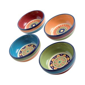 Zestaw 4 kolorowych misek Brandani, ⌀ 13 cm