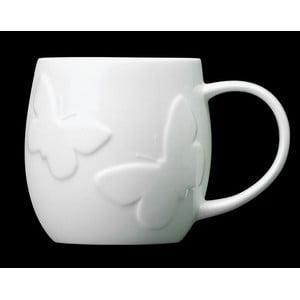 Kubek z angielskiej porcelany Plum Butterfly