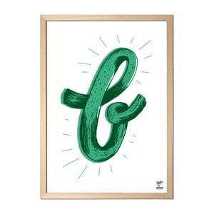 Plakat B designed by Karolina Stryková