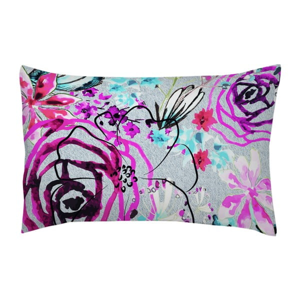Poszewka na poduszkę Star Orchid Lila, 70x90 cm