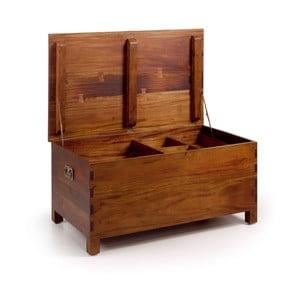 Drewniana skrzynia Trunk Medium, 90x45x47 cm