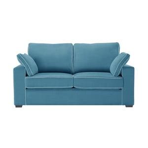 Sofa dwuosobowa Jalouse Maison Serena, niebieska