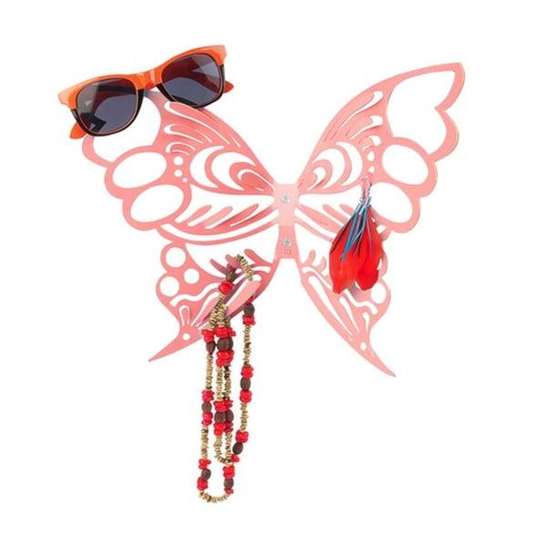 Stojak na biżuterię Butterfly Red