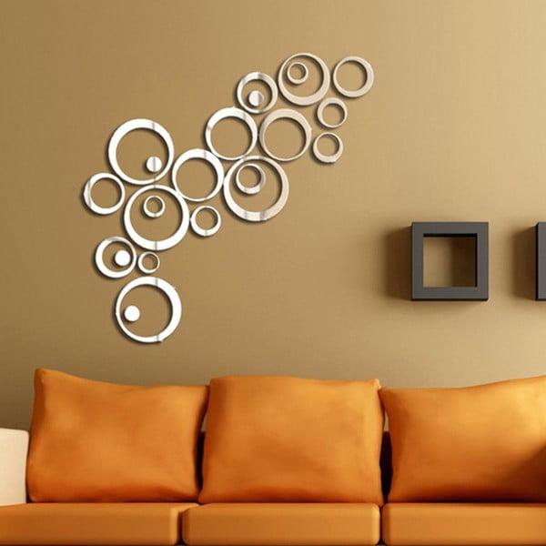 Naklejka lustrzana Rings
