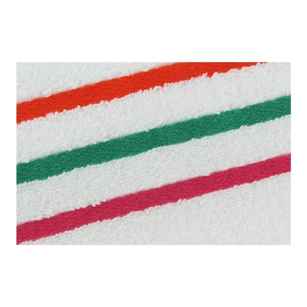 Komplet 2 ręczników White Colorful, 70x140 cm