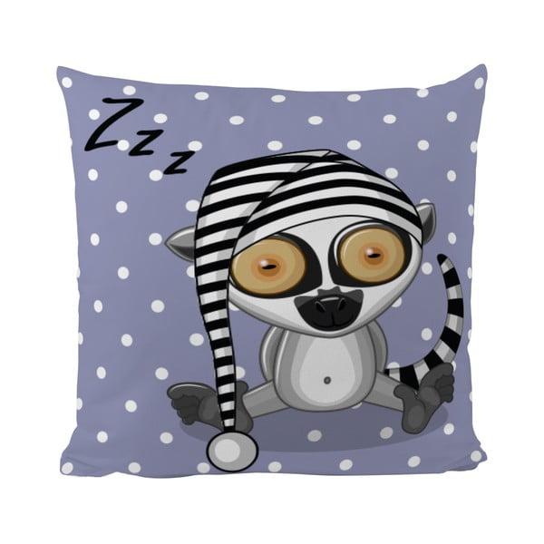 Poduszka   Sleepy Lemur, 50x50 cm