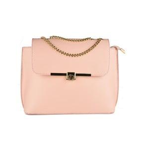 Różowa torebka skórzana Matilde Costa Salem