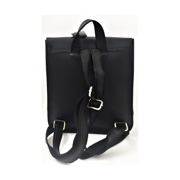 Skórzany plecak Toto Black