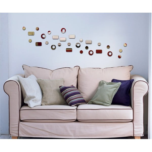 Lustro dekoracyjne Retro Pattern