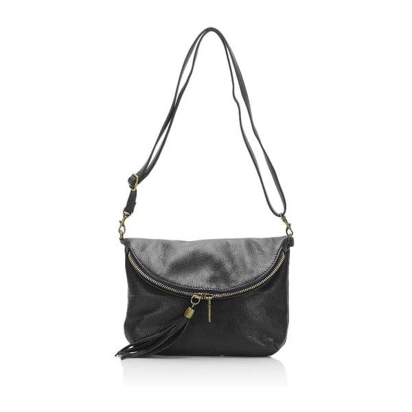 Czarna torebka skórzana Lisa Minardi Renae