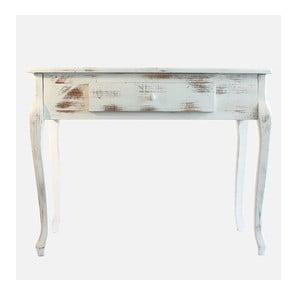 Drewniany stolik White Days, 98x77 cm