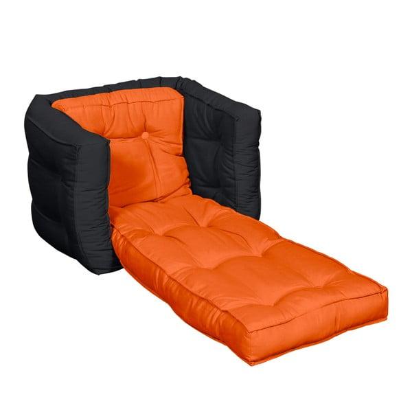 Fotel dziecięcy Karup Baby Dice Orange/Gray