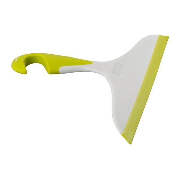 Żółto-biała ściągaczka do łazienki Wenko Loano