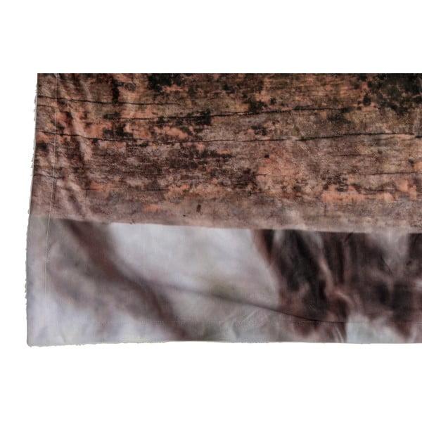 Pled J-line Owl Velvet, 140x160 cm