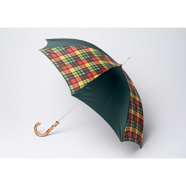 Parasol Tartan, ciemnozielony