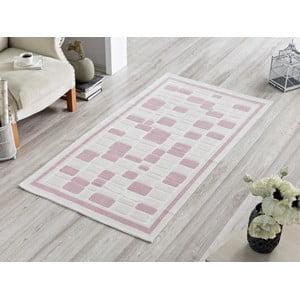 Dywan Pink Tiles, 100x150 cm
