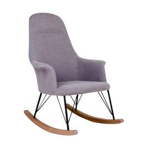 Szary fotel na biegunach House Nordic Viby