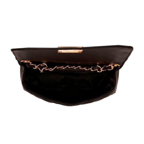Czarna torebka skórzana Andrea Cardone Elena