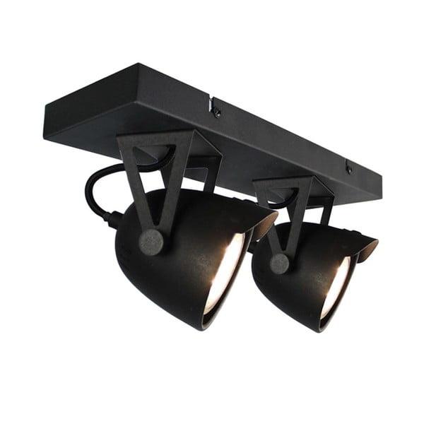 Czarna lampa sufitowa LABEL51 Spot Moto Cap Dos