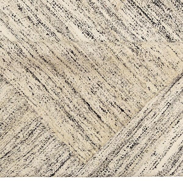 Beżowy dywan ręcznie tkany Sari, 60x90 cm