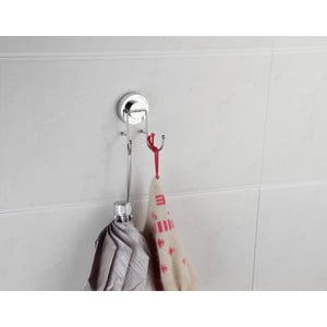 Podwójny haczyk na ręczniki z przyssawką ZOSO Double