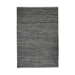 Dywan z konopi Coastal Natural/Black, 160x230 cm