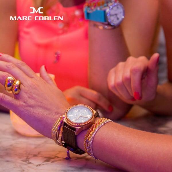 Zegarek damski Marc Coblen z dodatkowym paskiem i obręczą P113